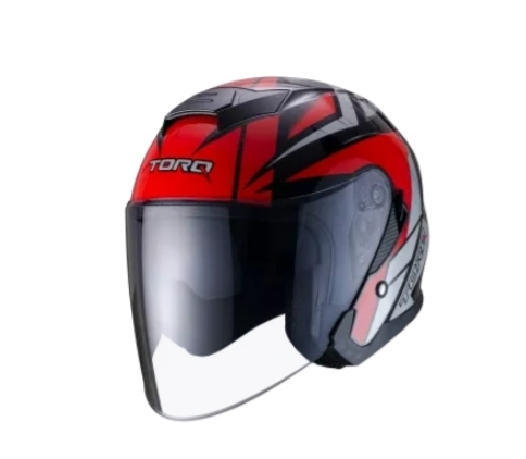 TORQ Xtreet Helmets – Glossy Red Black price in bd