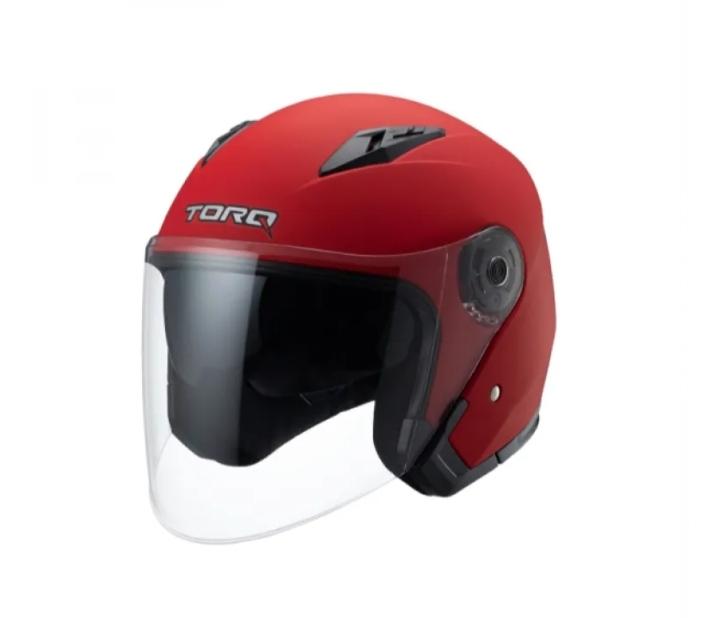 TORQ Atom (Solid) Helmets – Matt Red Price in bd