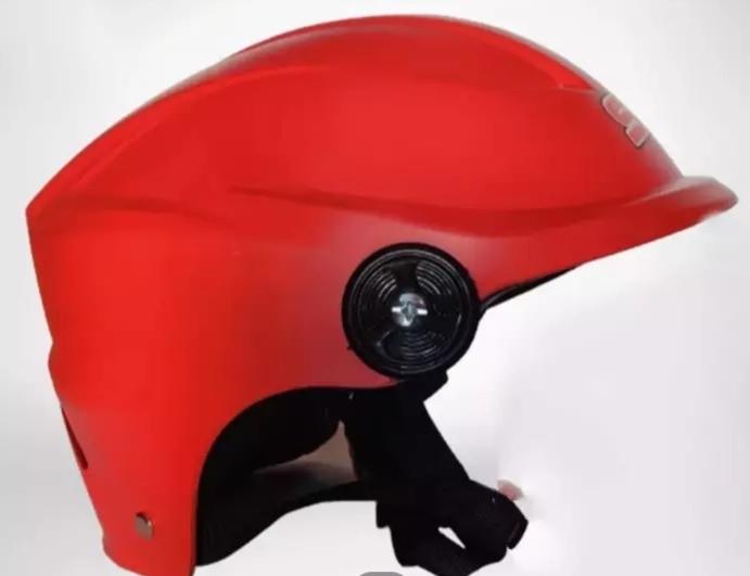 SFM HALF FACE CAP BIKE HELMET FOR MEN & WOMEN - RED PRICE IN BD.