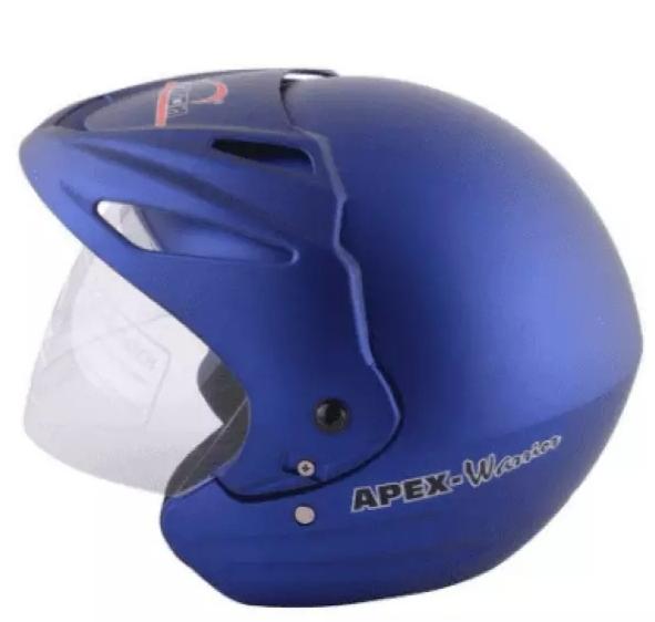 Aaron apex warrior Motorbike Helmet For Men and Women-Blue Price in bd