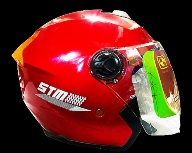 STM-603 Bike Helmet for Men and Women - Red Price in bd