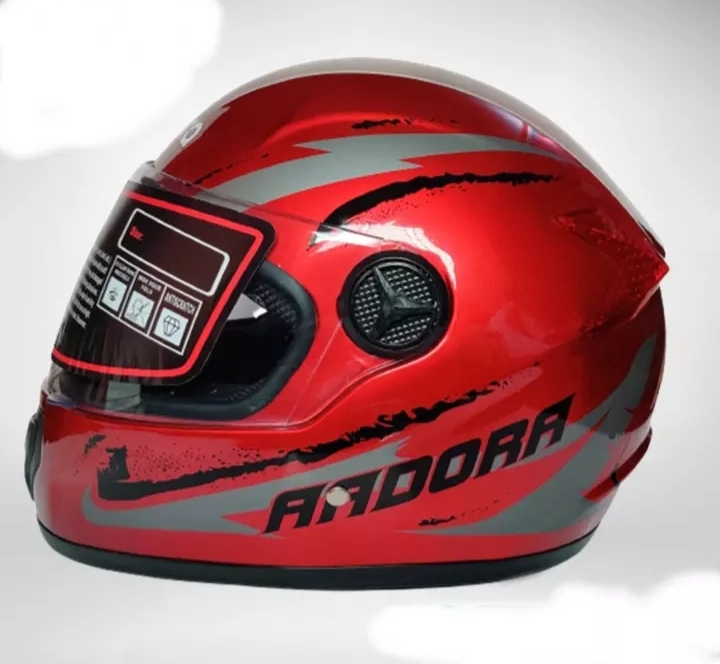 AADORA Full Face bike Helmet Red And Red Black Graphics Price in bd