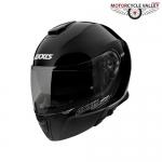 Axxis Gecko Solid Black Helmet