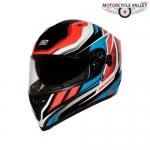 ORIGINE Strada Revolution FLUO Helmets – RED-BLUE-BLACK