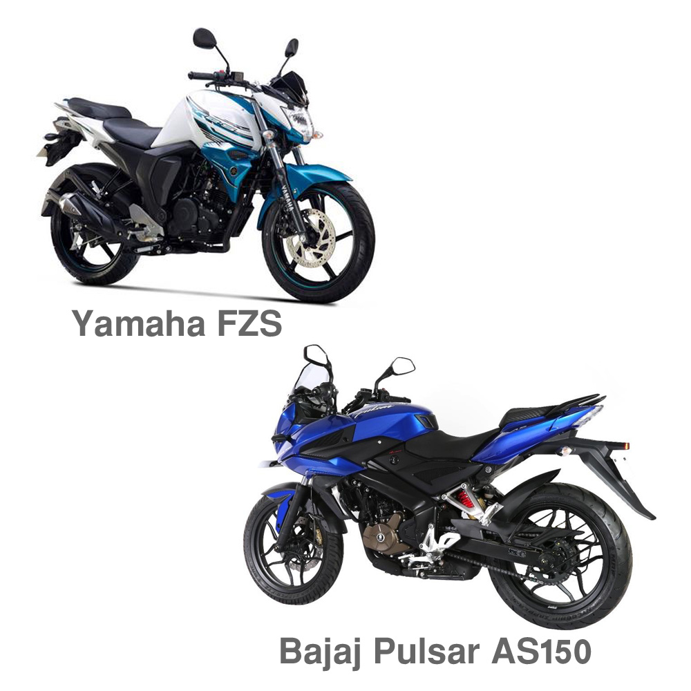 Bajaj Pulsar AS150 Vs Yamaha FZ-S