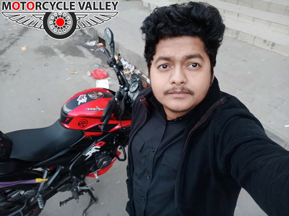 Bajaj-Pulsar-NS160-user-review-by-A-S-M-Asif-Selfie