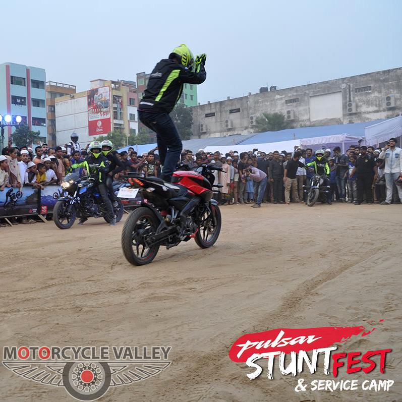 Bajaj-Pulsar-Stunt-Fest-&-Service-Camp