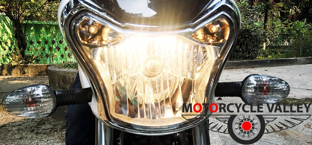 Bajaj-V15-user-review-by-Mahbub-Munna-headlamp