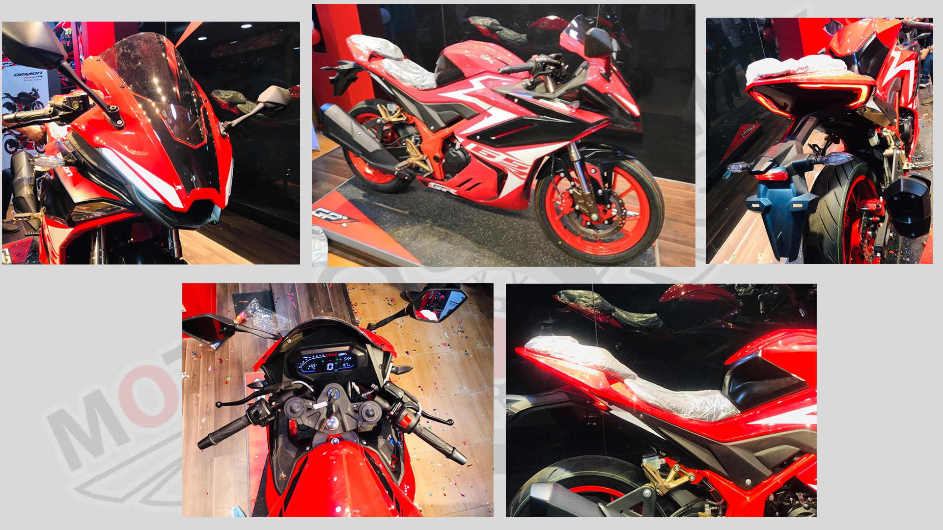 GPX Demon GR165R Design & looks