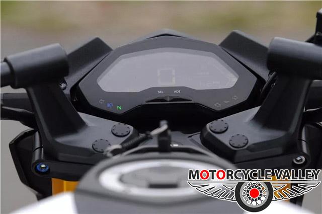 Haojue-DR-160S-Features-Review-Meter
