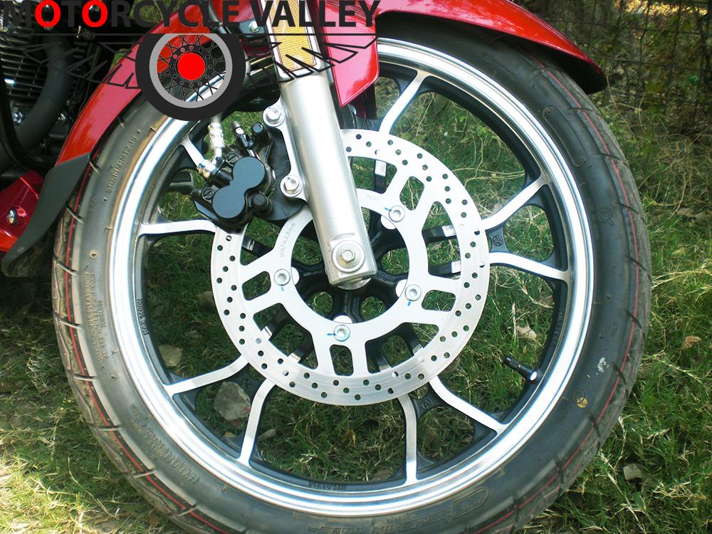 Haojue-TR-150-user-review-by-Wasim-Reza-brakes