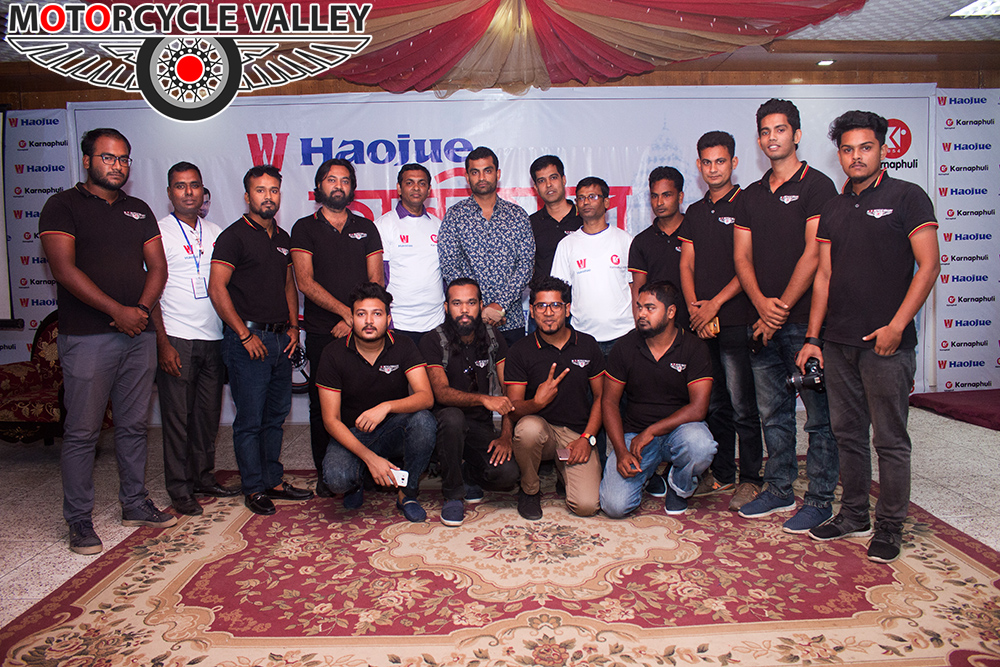 Haojue-customer-meet-with-Tamim-Iqbal-in-Rajshahi-Team-MotorcycleValley
