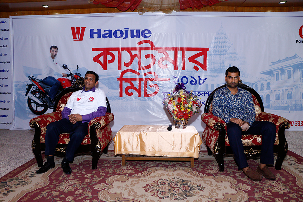 Haojue-customer-meet-with-Tamim-Iqbal-in-Rajshahi