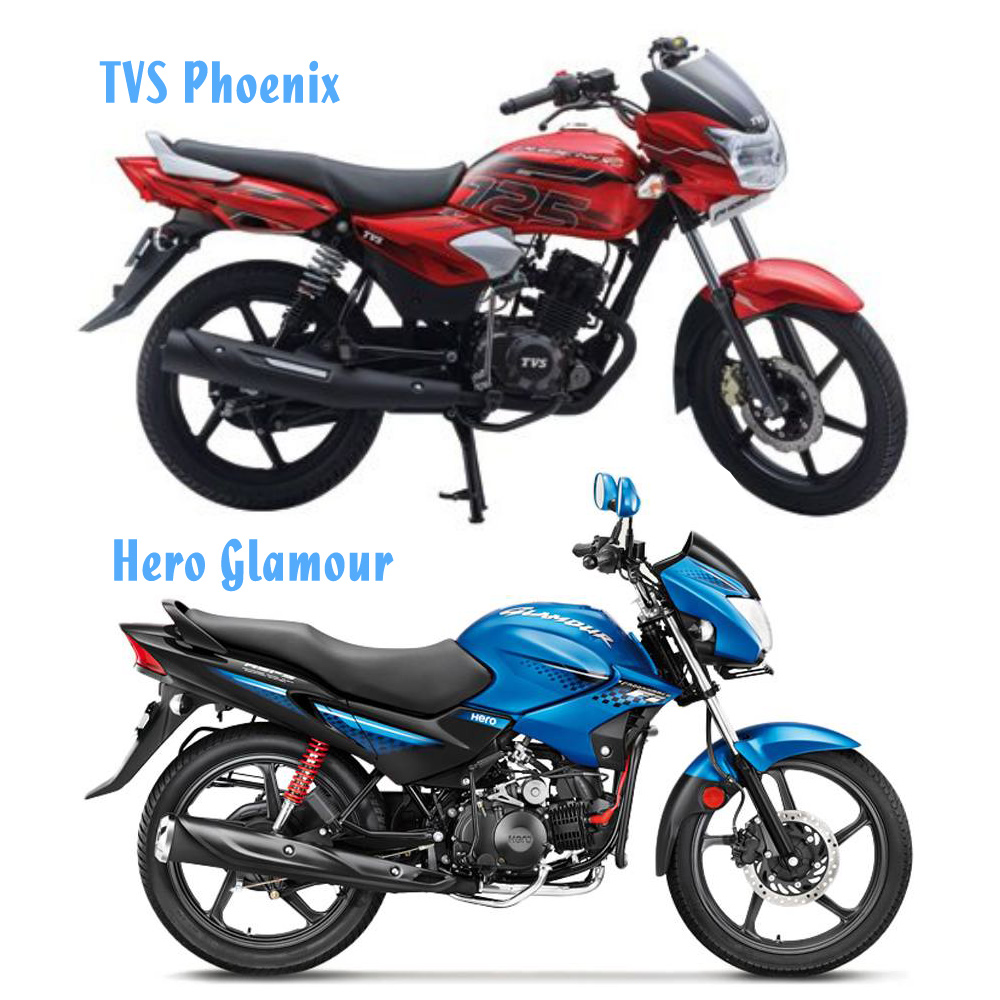 Hero Glamour Vs TVS Phoenix