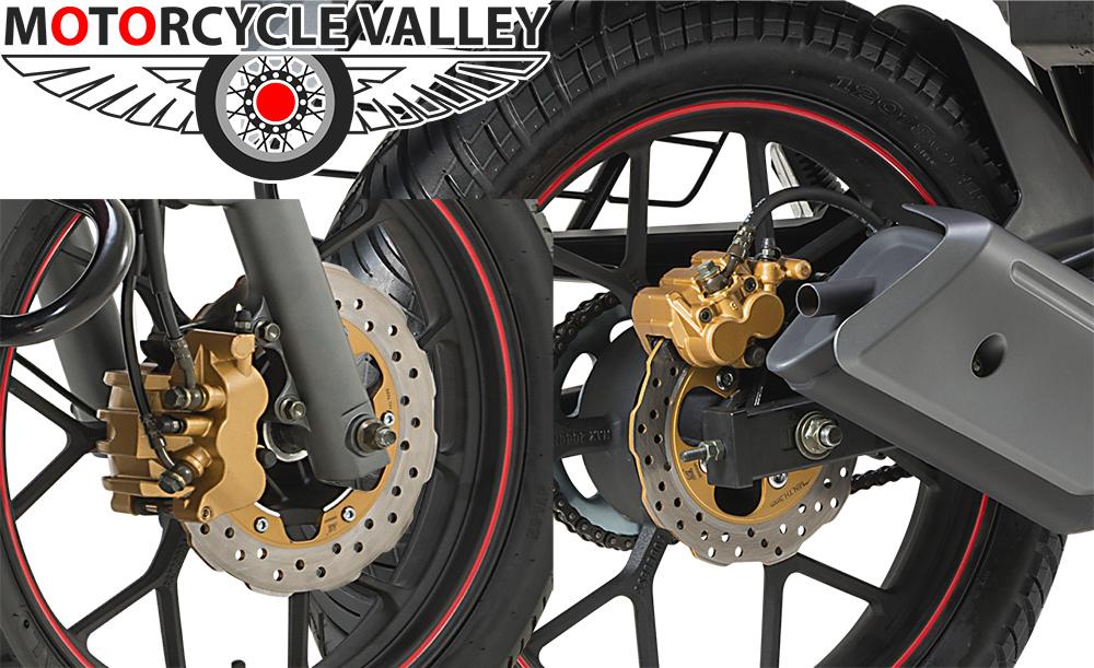 Keeway-RKS-150-Sport-CBS-brakes