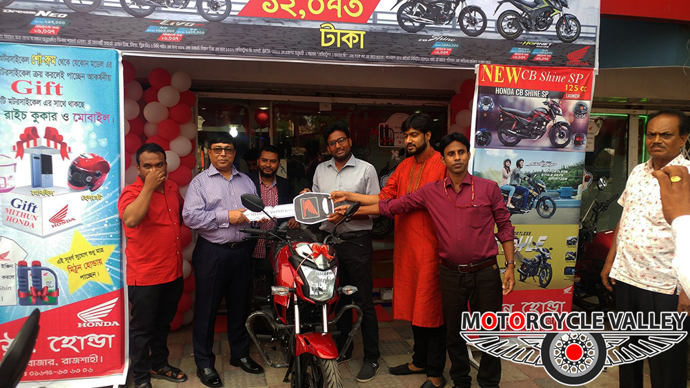 Mithun-Honda-celebrating--5-years-Bikes