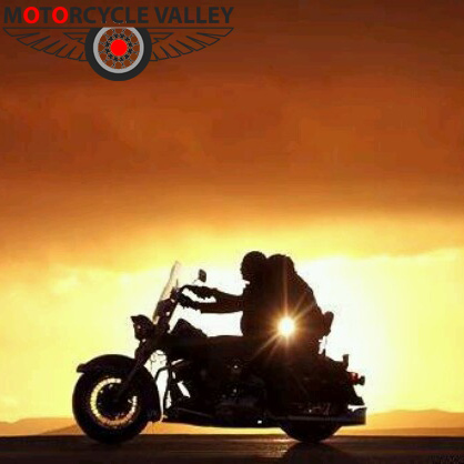 Motorcycle riding in bad weather