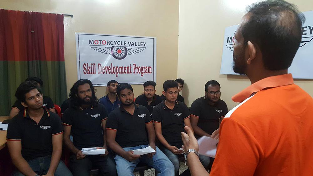 MotorcycleValley-Skill-Development-Program-Polash
