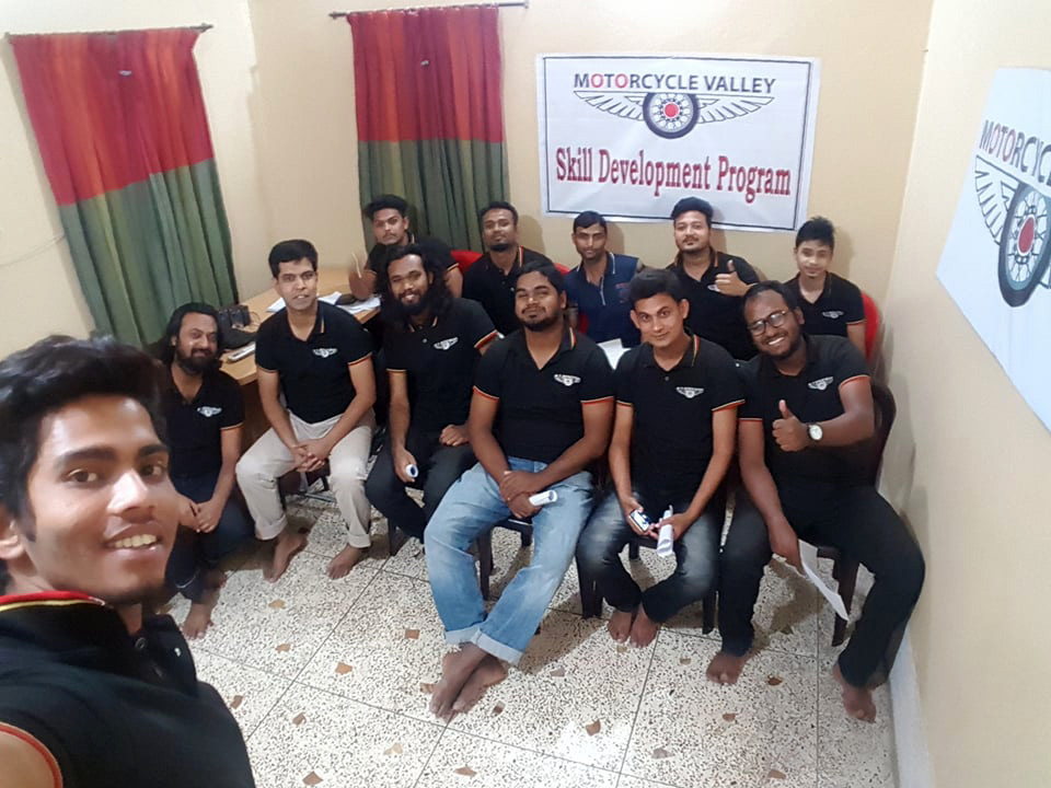 MotorcycleValley-Skill-Development-Program-Team