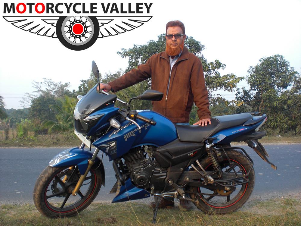 TVS-Apache-RTR-Matte-Blue-user-review-by-Saidul-Islam-Milton