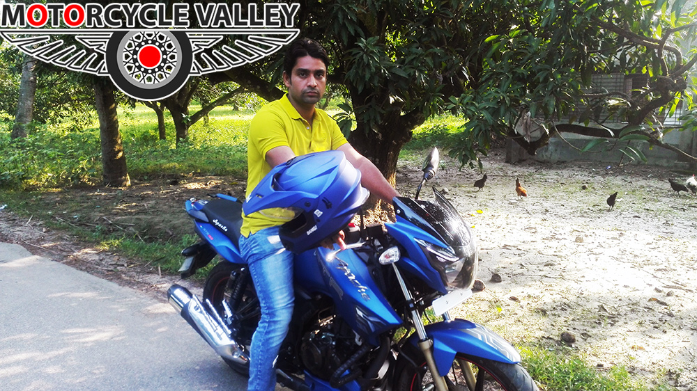 TVS-Apache-RTR-Matte-Blue-user-review-by-Shahriar-Parvez