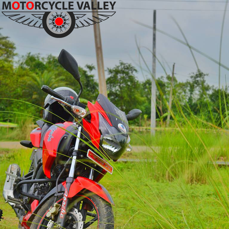 TVS Apache RTR Double Disc