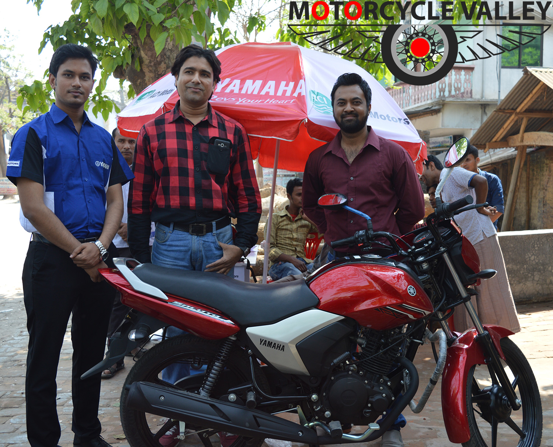 Yamaha-Test-Ride-Started