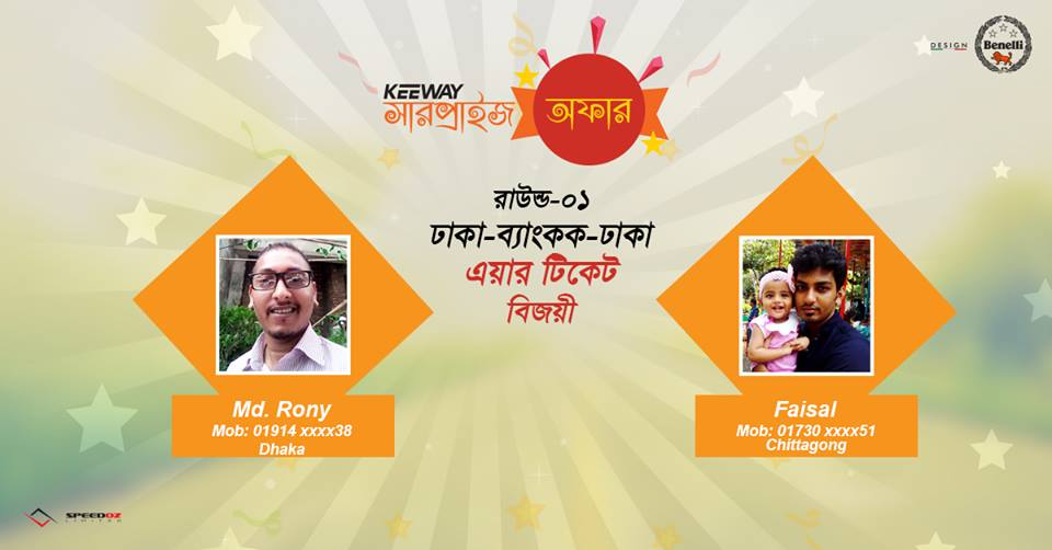 keeway-surprise-offer-round-01-air-ticket-winners