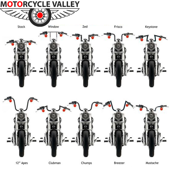 handlebars motorcycle types handlebar bike motorbike parts comfortable motorcyclevalley