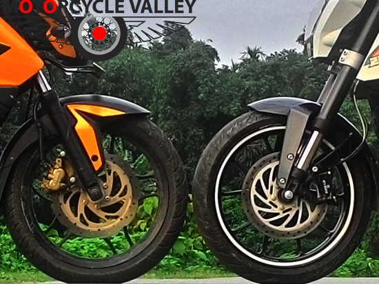 Types of motorcycle suspensions