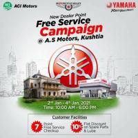Yamaha Free Service Campaign