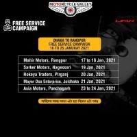 Lifan Free Service Campaign Dhaka To Rangpur