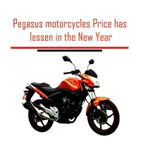 Pegasus motorcycles Price has lessen in the New Year
