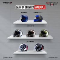 Cash on Delivery Offer on Torq Helmets