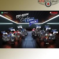 Enjoy the cashback offer by pre-booking a Yamaha bike