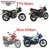TVS Metro Vs Hero iSmart