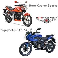 Hero Xtreme Sports Double Disc Vs Bajaj Pulsar AS150