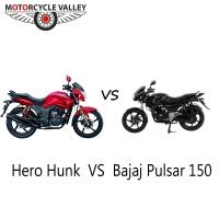 Bajaj Pulsar 150 Vs Hero Hunk
