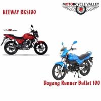 Dayang Runner Bullet 100 Vs KeeWay RKS 100