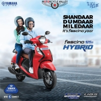 Yamaha Fascino 125 FI Hybrid Unveiled Price is Affordable