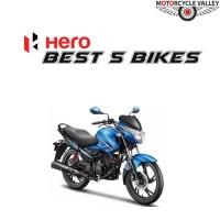 Best 5 Bikes of Hero