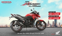 Honda Unveiled New XBlade ABS