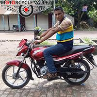 Bajaj Platina 100 user review by Najmul Hossain