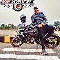 Bajaj Pulsar NS160 Fi ABS 2500km riding experiences by Kazi Zubaidur