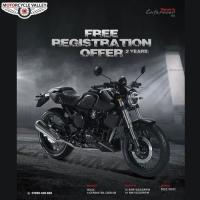 Free Registration Offer on Generic Café Racer 165