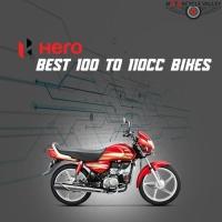 Hero's Best 100 to 110cc Bikes