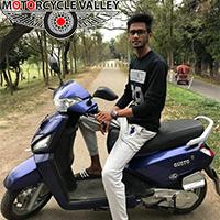 Fuel cost is too high – Mahindra Gusto 110cc user Abdul Baky Muntaka