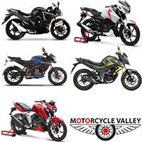 Popular 160/165cc bikes in 2018