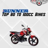 Top 80 to 100cc Bikes of Runner
