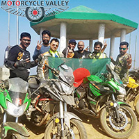 Six young bikers win Keokradong traveling by  bikes